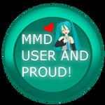 mmd pride badge/stamp by Tehrainbowllama