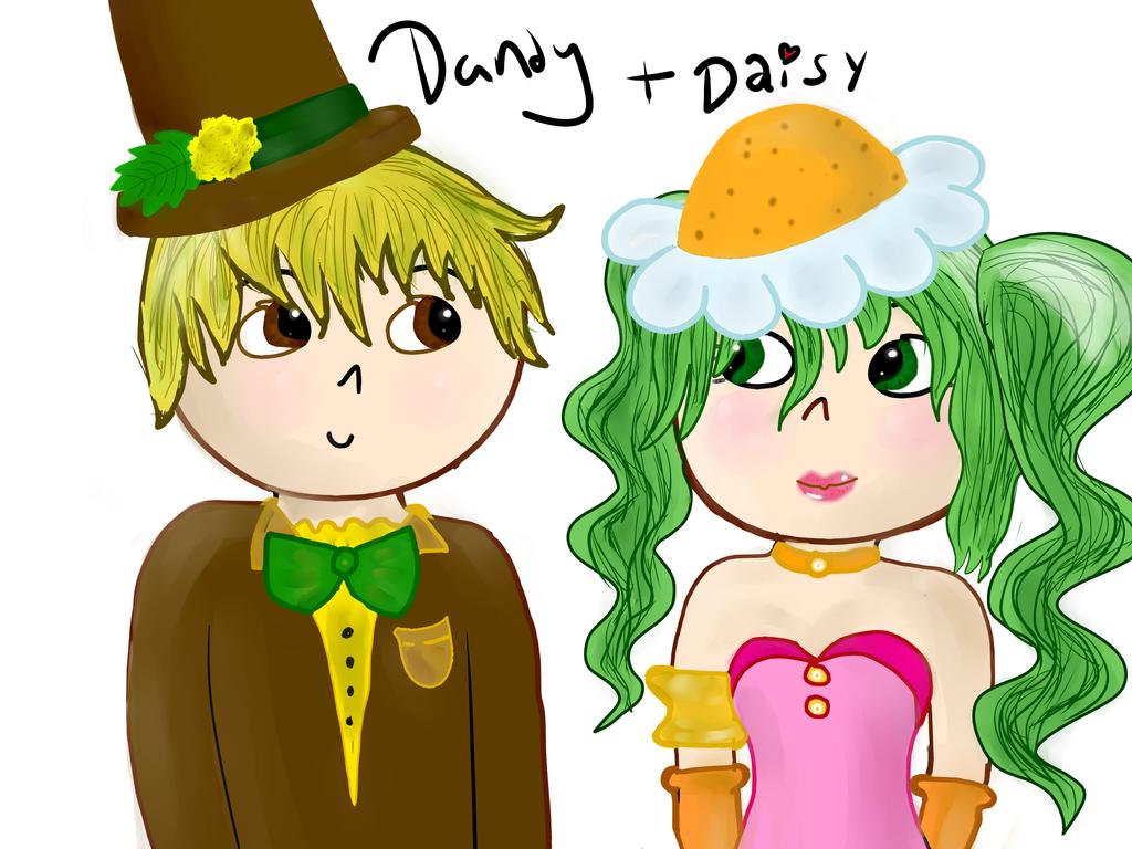 daisy and dandy darling by Tehrainbowllama