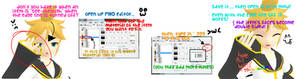 mmd see through/ alpha/ edge line problem tutorial