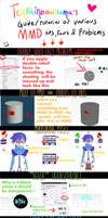 MMD guide to tips, facts and  problems