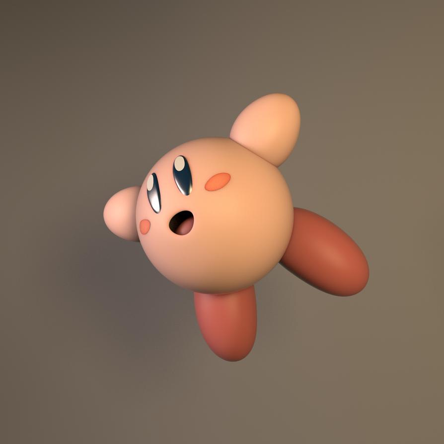 Falling Kirby 2K by GexANIMATOR