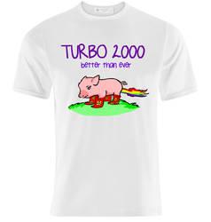 T-Shirt Design: Turbo 2000 by K-O-S-A-K
