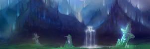 Fantasy landscape by Maya-Maria
