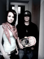 Skater couple 2 by dont-worry-b-happy