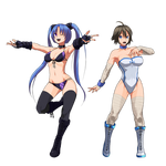 Custom Girl Wrestiling 1.Team hivaristar by iggler