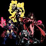 Marvel comics heroines