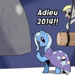 adieu 2014!! by iggler