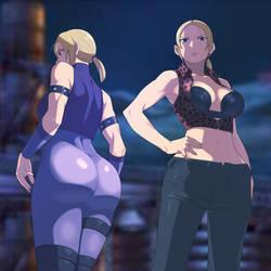 Nina Williams in Tekken 3 by iggler