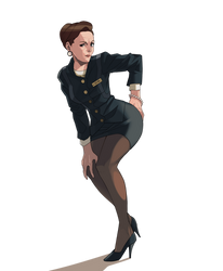 hester stone from home alone 2 by iggler