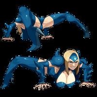 Mizuki toad pose(not translation) by iggler