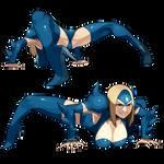 Mizuki toad pose(not translation)