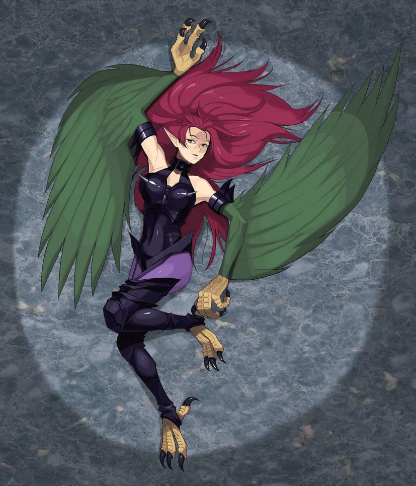 Harpie Lady S.B  (not translation) by iggler