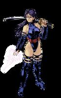 Psylocke (not translation) by iggler