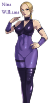 nina williams  (not translation) by iggler