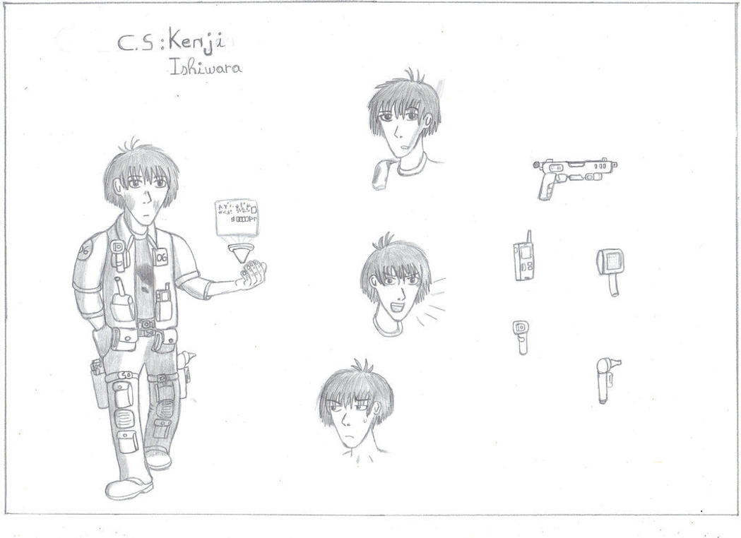 Character Sheet : Kenji Ishiwara by Troll-killers
