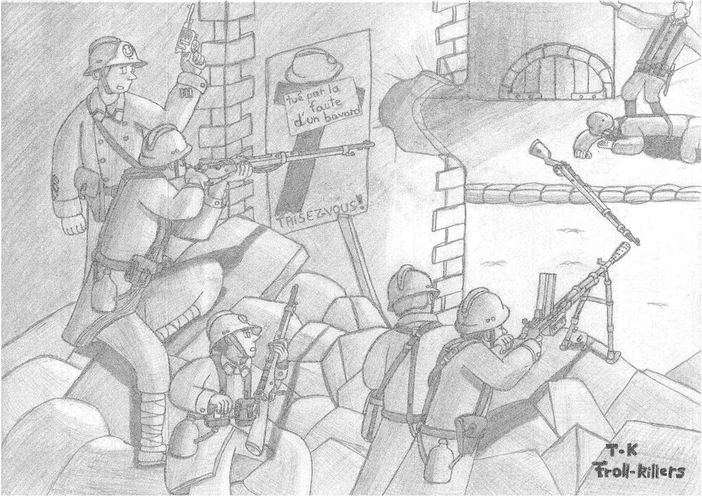 Derniers combats de Juin by Troll-killers