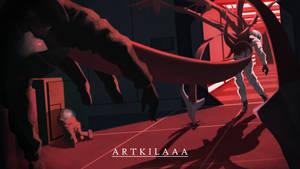 Among Us Fanart Illustration by Artkilaaa