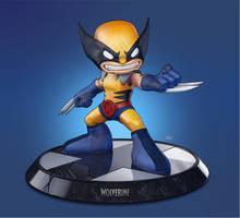 Wolverine - Big Head Figure