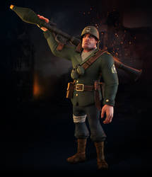 Stylized Soldier
