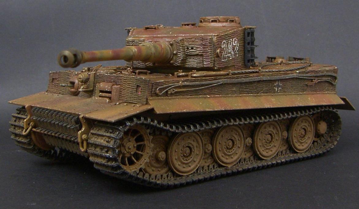 Pz Kpfw Vi Ausf  E Tiger By Arnisan On Deviantart