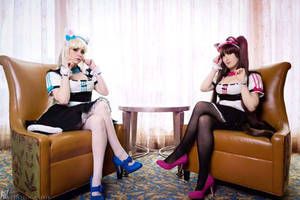 Chocola and Vanilla Nekopara Cosplay by EroticNeko