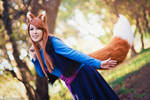 Spice and Wolf Holo Cosplay