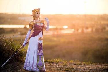Twilight Princess Zelda Cosplay by EroticNeko