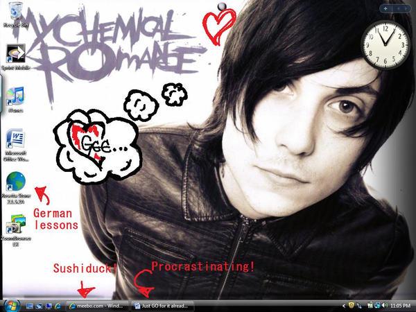 Frankie Desktop Screenshot by AGoddessFinch