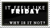 Friday Stamp by AGoddessFinch