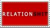 RelationSHIT stamp by AGoddessFinch