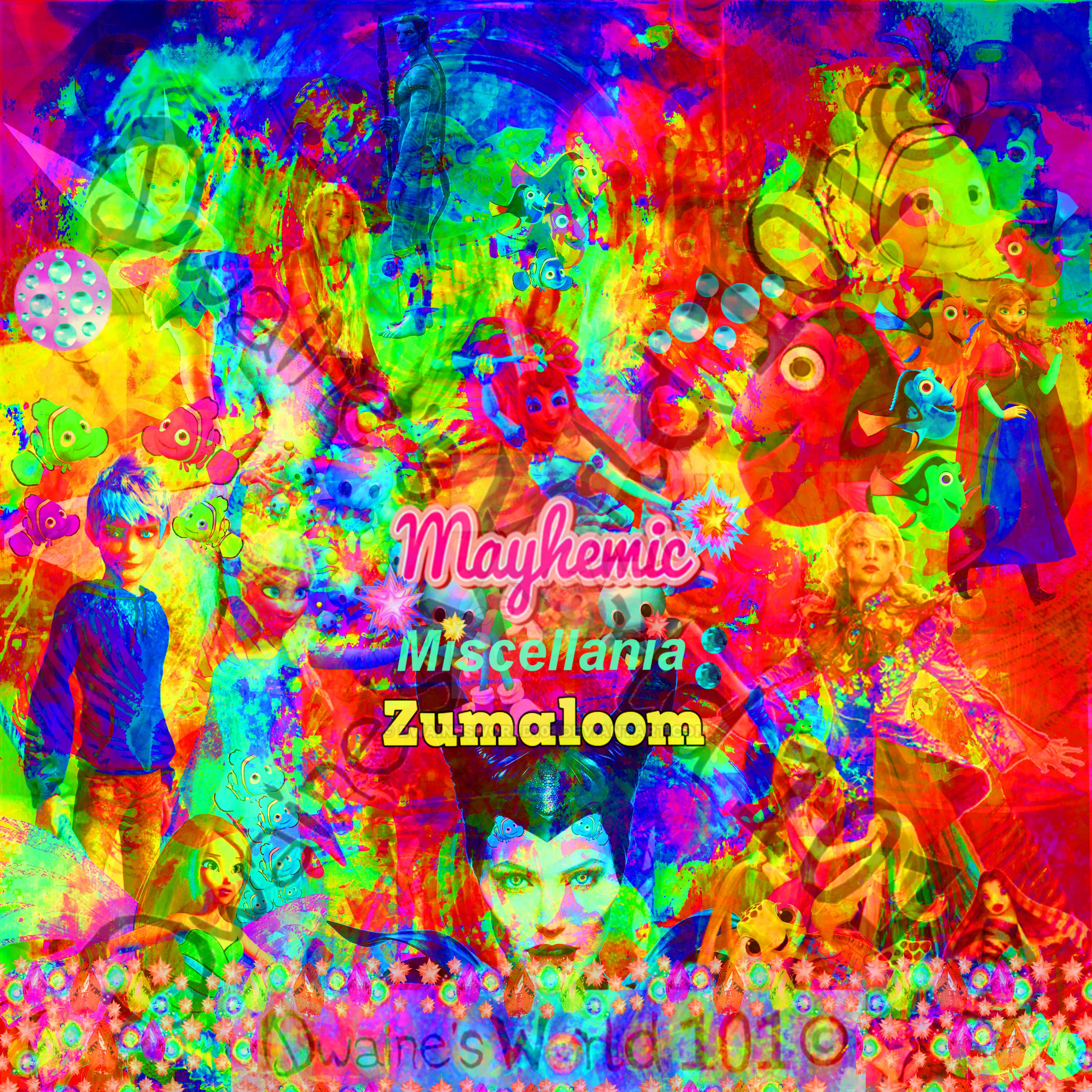 MaYhEmIc Miscellania: ZUMALOOM 6 by DwainesWorld101