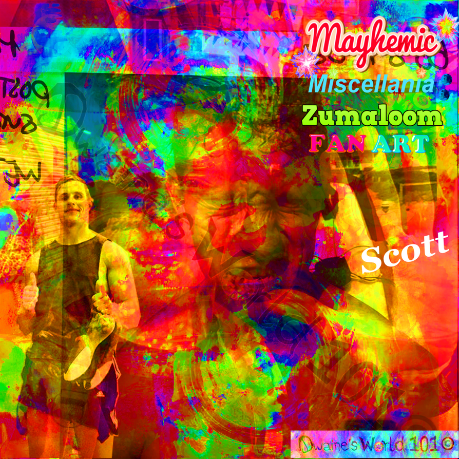 MaYhEmIc Miscellania: ZUMALOOM (FAN ART) 2 by DwainesWorld101