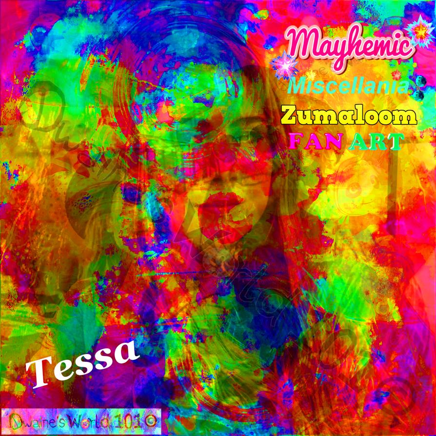 MaYhEmIc Miscellania: ZUMALOOM (FAN ART) 3 by DwainesWorld101