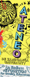 Ateneo Bookmark by spiderye