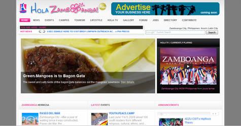Hola Zamboanga Website by spiderye