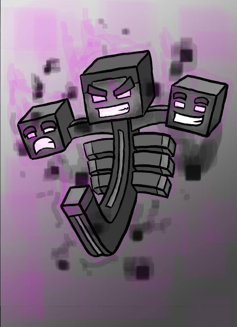 [Immagine: wither_boss_by_blackninjamc-d5dd3ek.png]