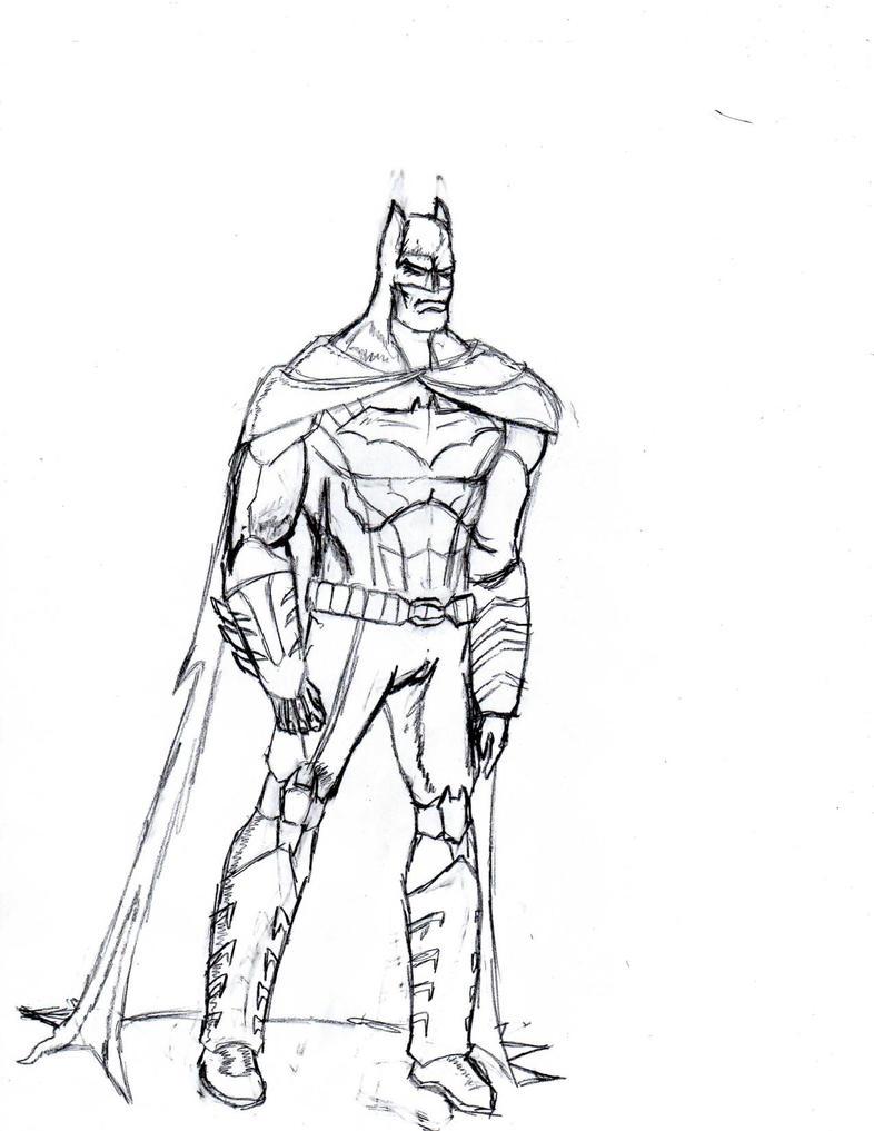 Batman- New 52 by The-Middnite-Hawk
