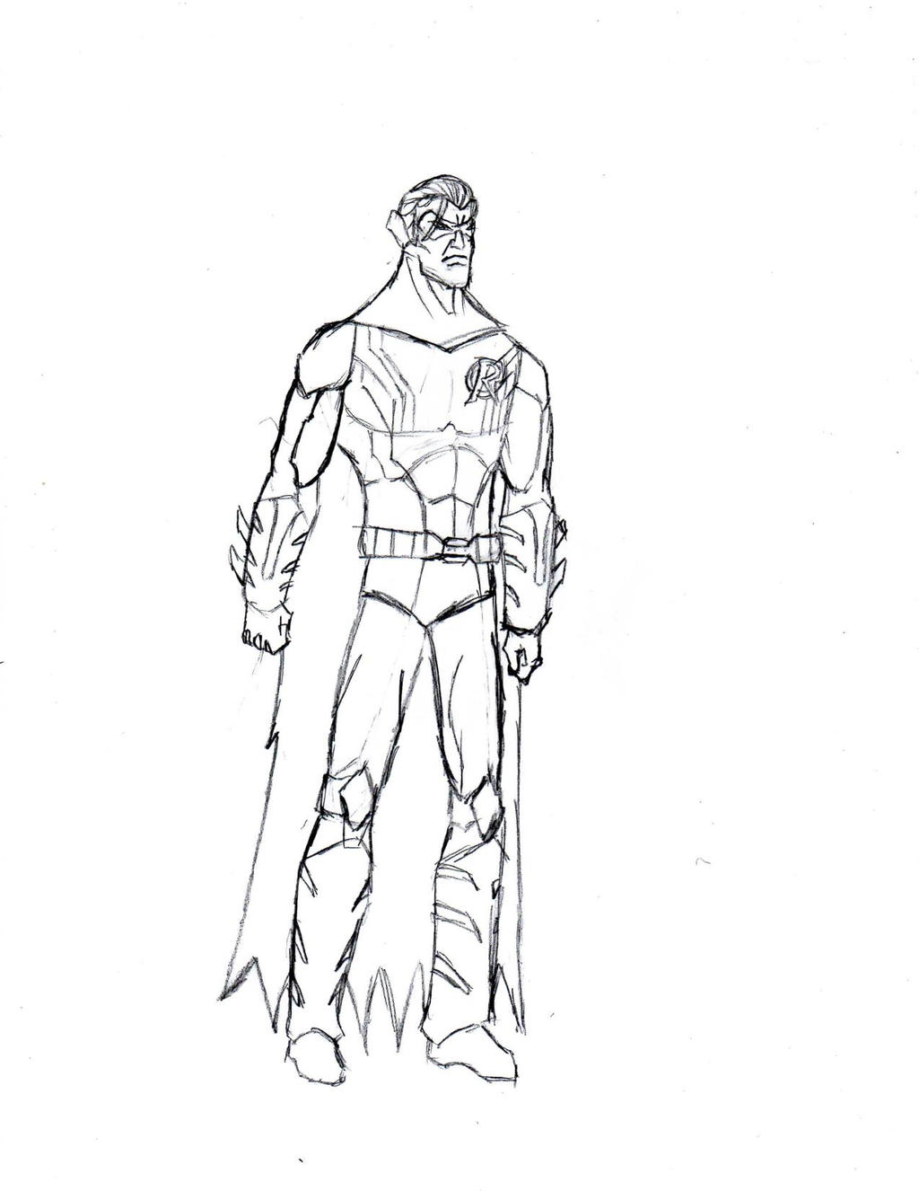 New Robin Design by The-Middnite-Hawk