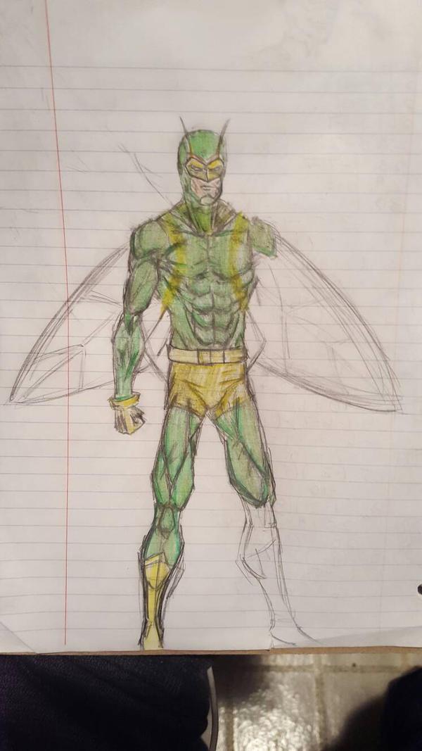 Moth-Man by The-Middnite-Hawk