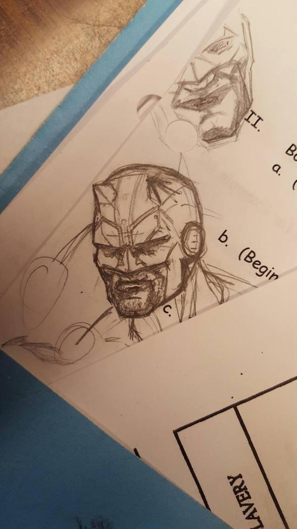 Daredevil head by The-Middnite-Hawk