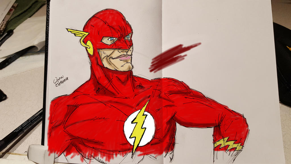 The Flash by The-Middnite-Hawk