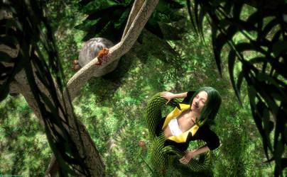 Snake in the Grass (ArtFight)