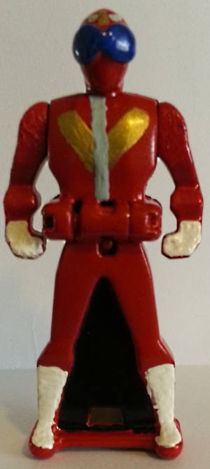 Super Megaforce Akaranger key