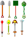 Tails of Babylon King Weapons
