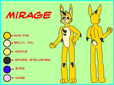 Mirage Reference Sheet