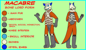 Bone Lord Macabre reference sheet