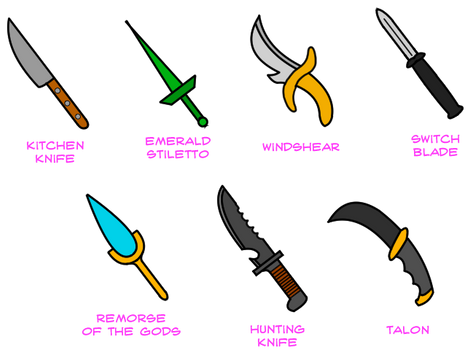 Daggers and Knives