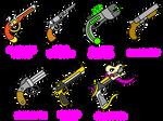 Halphas' Pistols