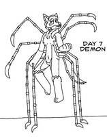 Atlus Artober Day 7 - Demon