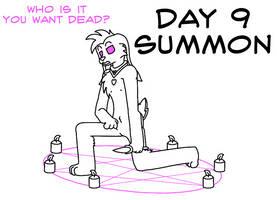 Atlus Artober Day 9 - Summon